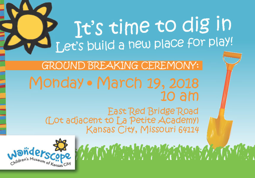 Wonderscope Children's Museum Ground Breaking | March 19, 2018 at 10 am
