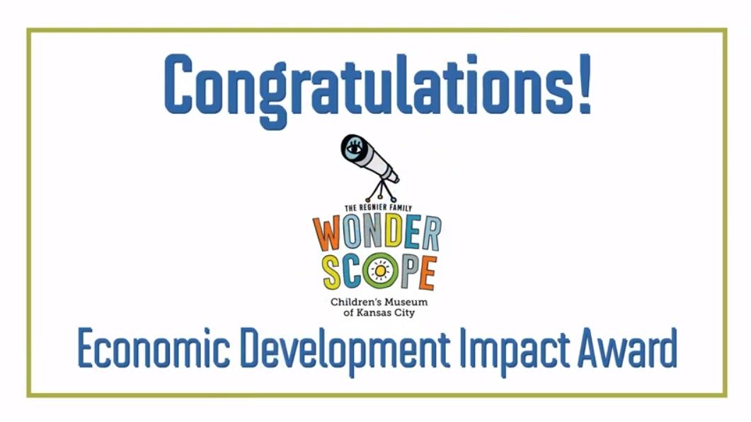 Wonderscope Children's Museum Wins Economic Development Impact Award